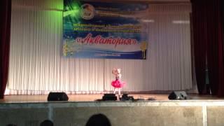 Софья  Грабова - 9 лет. Лауреат 1 премии на Международном конкурсе Акватория -2014.