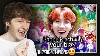 THEY'RE NOT WRONG! (J-Hope is actually your bias   Reaction/Review)