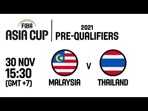 Malaysia v Thailand - Full Game - FIBA Asia Cup 2021 Pre