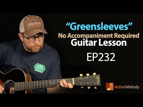 Greensleeves Guitar Lesson  What Child Is This? Guitar lesson  How to Play  EP232
