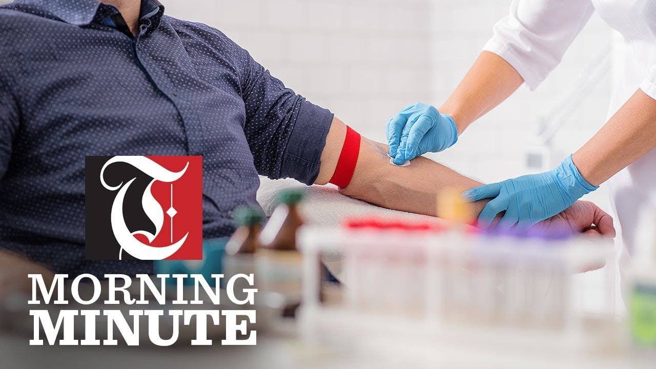 Morning Minute: Coronavirus: Call for blood donations