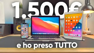 Ho comprato il SETUP APPLE DEFINITIVO con 1.500€ 🍏 (iPhone, iPad, Mac, Watch)
