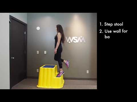 Achilles Tendinopathy & The Heel Drop Protocol