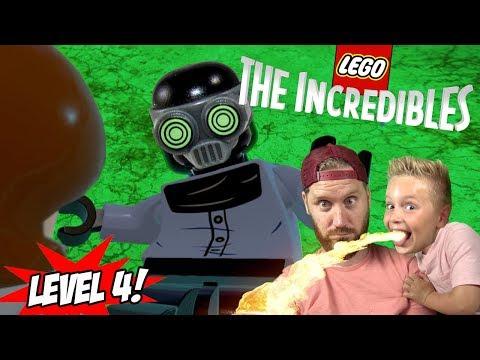 Elastigirl vs Screenslaver! LEGO The Incredibles Gameplay for Nintendo Switch Part 4 en streaming