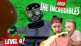 Elastigirl vs Screenslaver! LEGO The Incredibles Gameplay for Nintendo Switch Part 4