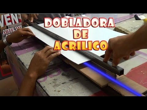 Como doblar acrilico por US$15 ★ Like folding acrylic for $ 15 ● @todoinventostv #30