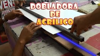 Como doblar acrilico por US$15 ★ Like folding acrylic for $ 15 ● @todoinventostv #30