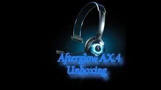 Afterglow AX.4 Wired Headset Unboxing(Xbox 360)