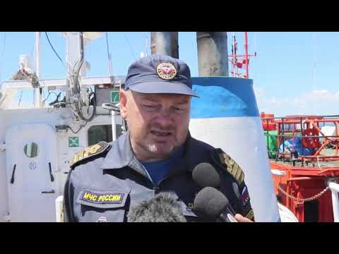 23 05 2019 Во Владивостоке прошли масштабные Бассейновые учения по спасению людей в море