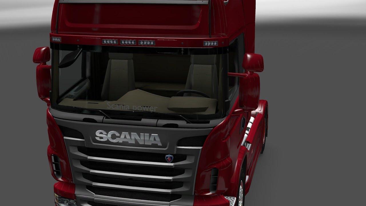 Euro truck simulator2 window sticker scaniapower