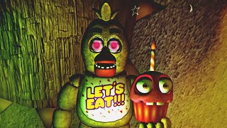 CHICA y la GRAN SORPRESA - Five Nights at Freddy's 1 Doom Mod REMAKE (FNAF Game)