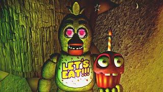 CHICA y la GRAN SORPRESA - Five Nights at Freddy's 1 Doom Mod REMAKE (FNAF Game)