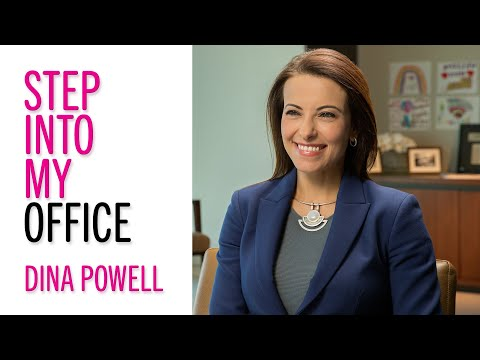 Leadership Advice From Goldman Sachs's Dina Powell–Glamour's Step into My Office–Career Tips