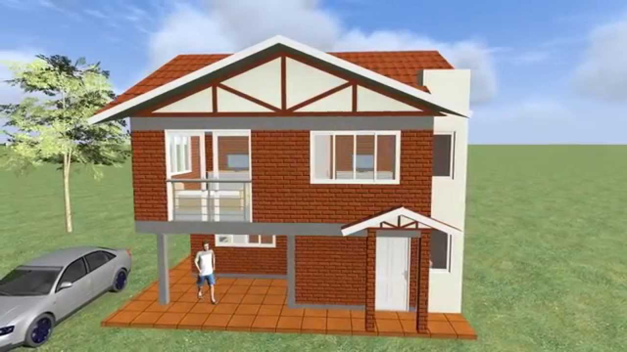 Casa de 120 m2 en bolivia youtube for Casas modernas de 95 m2