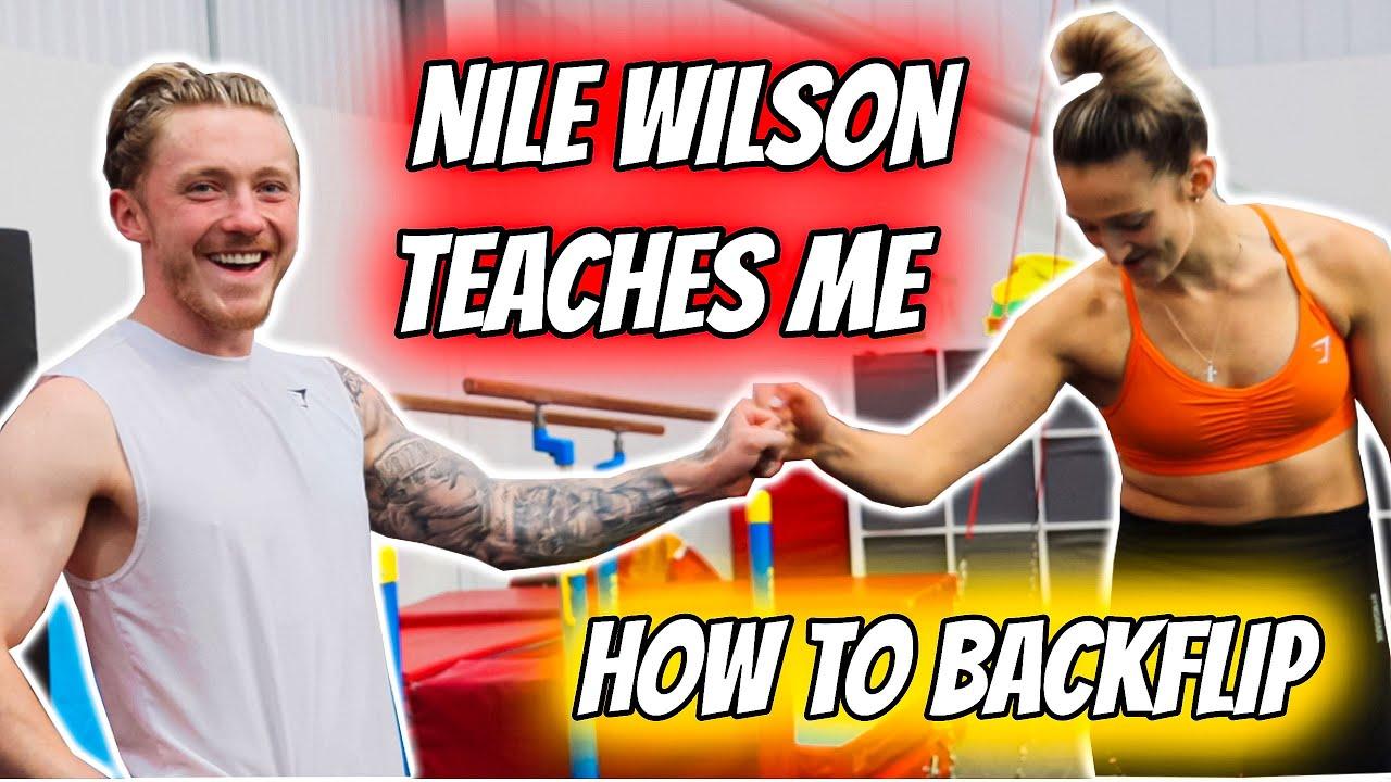Download Nile Wilson taught me how to Backflip! Ft Luke Stoney + Ashley Watson