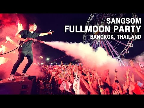 SangSom Presents  Fullmoon Party live in Bangkok