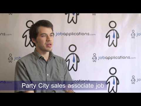 Party City Interview - Sales Associate 2