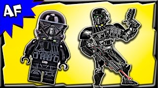 Lego Star Wars IMPERIAL DEATH TROOPER 75121 Stop Motion Build Review