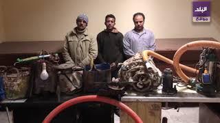 ضبط 3 أشخاص بتهمة التنقيب عن آثار بقرية صفط تراب بالمحلة
