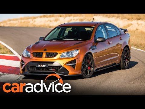 Elegant 2017 HSV GTSR W1  Australia39s 636hp Muscle Car Review  Cars
