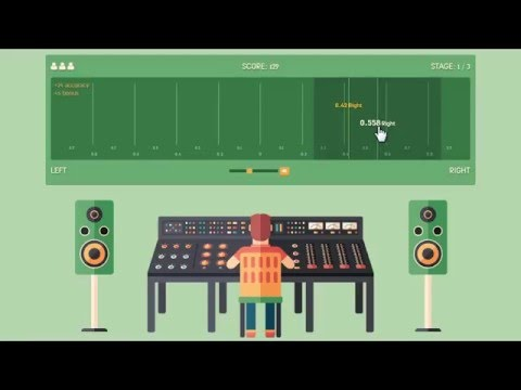 How to play PanMan?   Panning Ear Training
