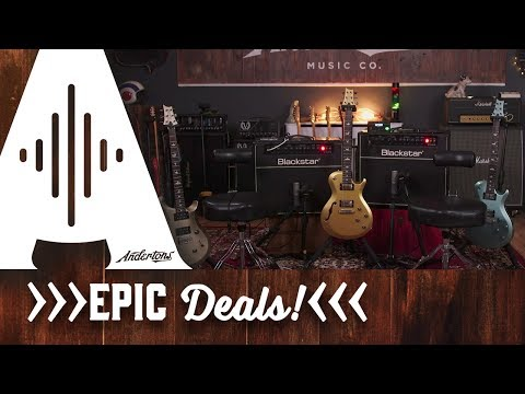 EPIC DEALS - Line 6 Relay, Blackstar Deluxe 40, PRS Guitars