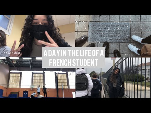 A day in the life of a French Highschool student | VLOG 2020