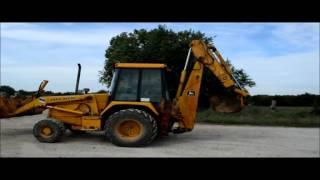 1991 John Deere 310D backhoe for sale | sold at auction October 22, 2015