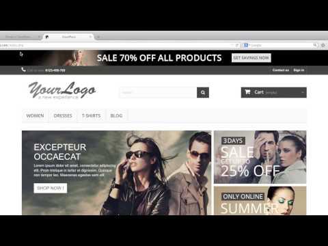 Change Store Logo, Favicon, Icons, Store Info in PrestaShop 1.6.x HD