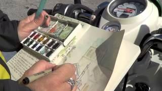 Video #169 Sketching St. Anne