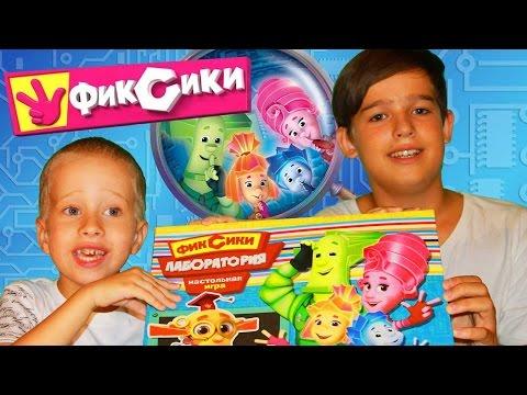Фиксики детская настольная игра