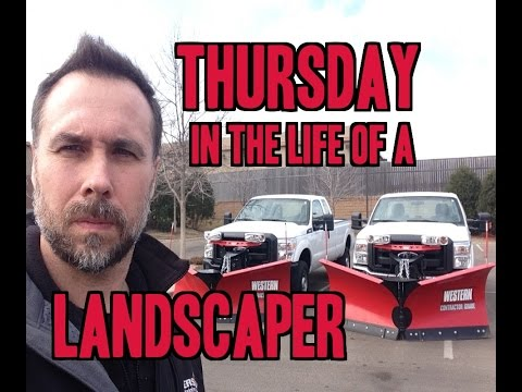 Thursday in the Life of a Landscaper