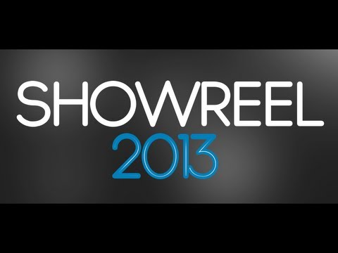 SHOWREEL 2013 - motion design