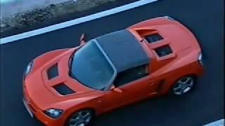 Opel Speedster (2000) introductie video