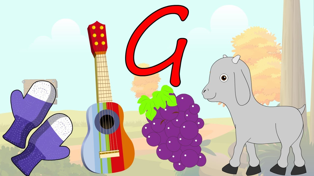 learn about the letter g preschool activity youtube