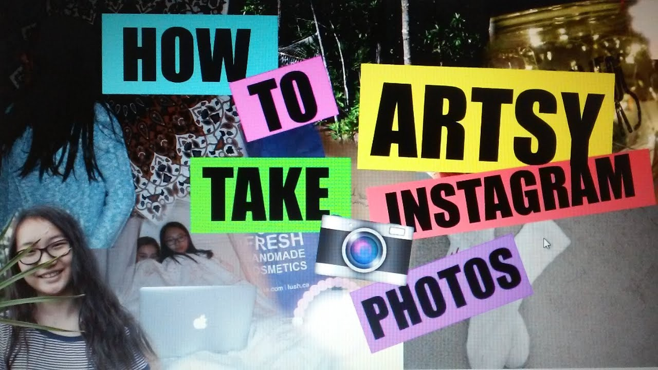 How To Take Artsy Instagram Photos Grace Park Youtube