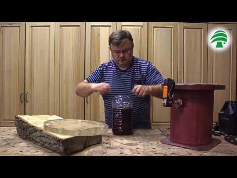 Стабилизация древесины (часть