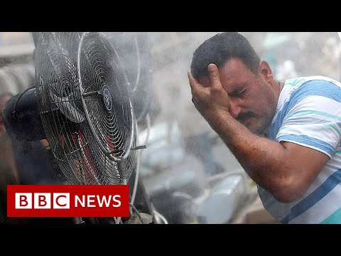 World now sees twice as many days over 50C - BBC News