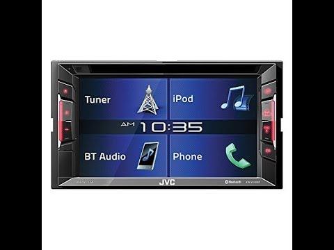 Jvc KWV140BT Double Din Bt In-dash Dvd/cd/am/fm Car Stereo W