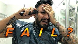 Ich rasiere meine SEITEN AUF NULL! FAIL?