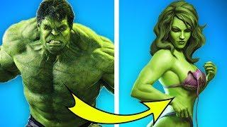 10 männliche Superhelden wurden zu Frauen. Das hast du nicht erwartet!