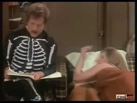 Barbra Streisand ..George Segal... A scene from
