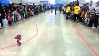Eva Robot - Marathon Event - FIRA Cup, IRC 2013, South Korea.