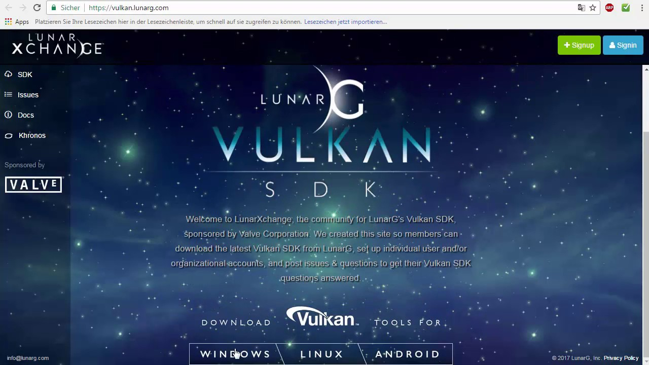 how to install vulkan drivers