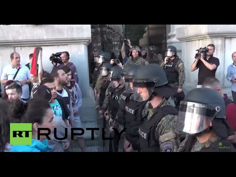 Macedonia: Third day of protests rock Skopje