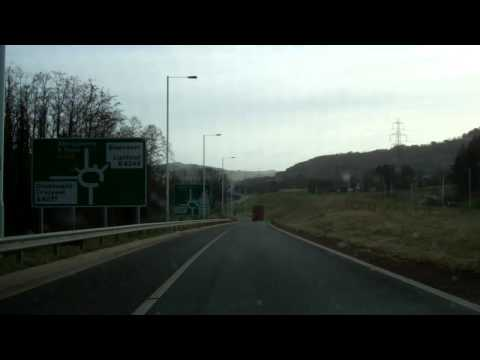 Brynmawr to Abergavenny on the A465
