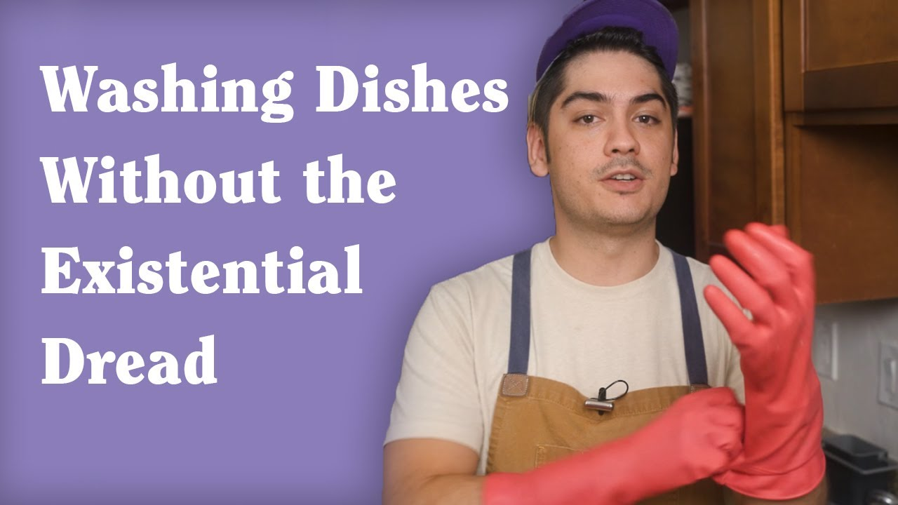 How to Wash Dishes Without Hating Every Moment of It