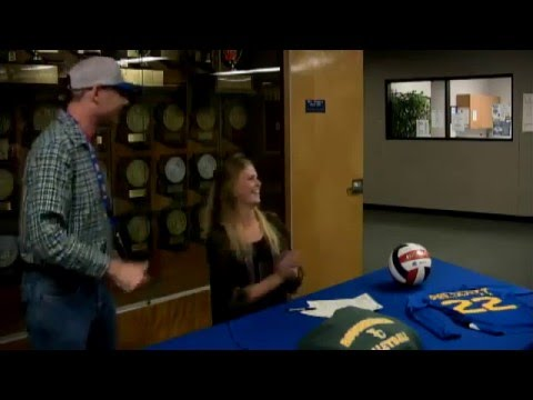 Bailey Anderson signed to yavapai college for volleyball