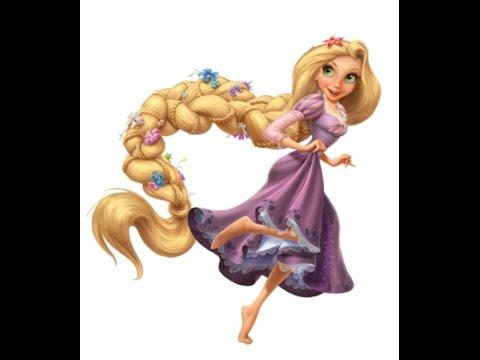 рапунцель раскраска мультик Rapunzel
