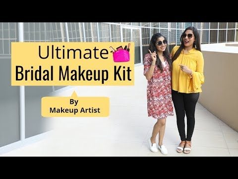 The Ultimate BRIDAL MAKEUP KIT (ft. Akriti Sachdev) | Shruti Arjun Anand